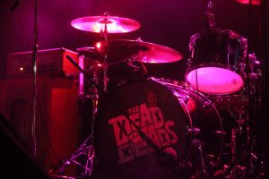 The Dead Deads perform at the Orange Peel on Sept. 14. Photo by Phillip Wyatt.